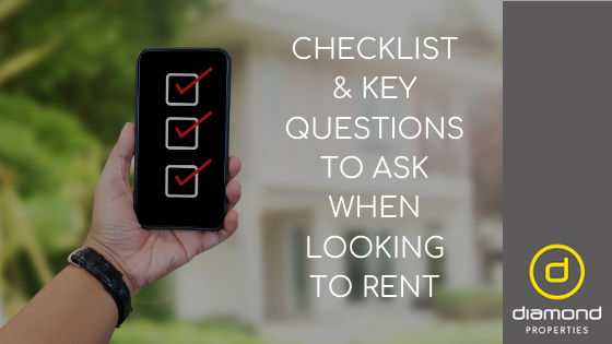 Checklist & Key Questions To Ask When Looking to Rent